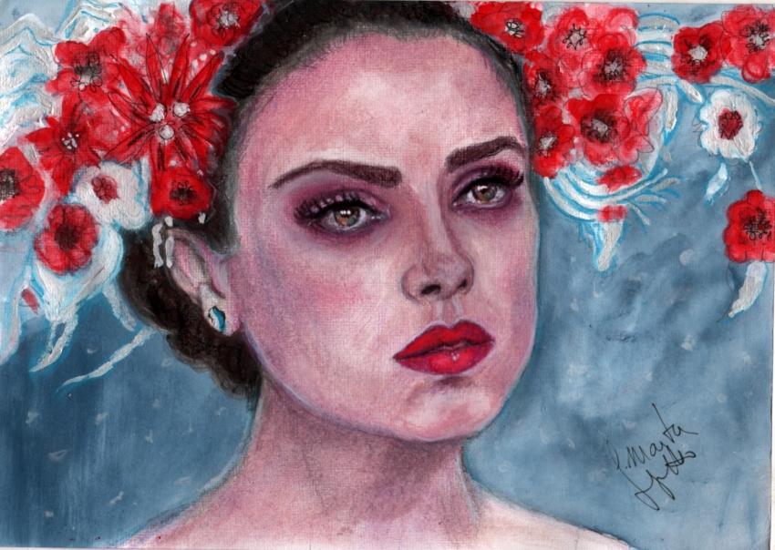 Mila Kunis by Toyscape